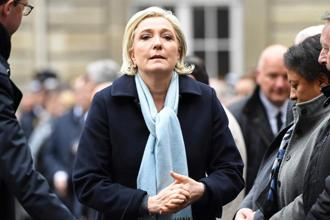 "Unsurprisingly, given her anti-immigrant stance, ""departments"" with high levels of foreign-born populations tended to vote less for Le Pen. Photo: Bertrand Guay/AFP"