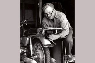 Author Robert M. Pirsig, whose novel 'Zen and the Art of Motorcycle Maintenance' became a million-selling classic, died at his home in South Benwick, Maine on Monday. Photo: AP