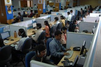 The Indian software services industry is a custodian not merely of its own fortunes but that of the future of an entire nation. Photo: Hemant Mishra/Mint