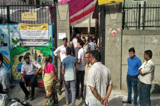 MCD elections saw a voter turnout of 53.58%, a slight increase from the 2012 turnout of 53.43%. Photo: Priyanka Parashar/Mint