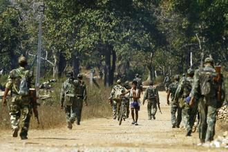 Southern Chhattisgarh is today the country's most militarized patch after Jammu & Kashmir and certain parts of northeast India, in response to the area being part of the biggest remaining stronghold of Maoism Mark V. Photo: AFP