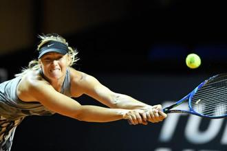 Handed a much-debated wild card, Maria Sharapova will play her comeback match against Roberta Vinci in the opening round of the Porsche Grand Prix. Photo: PTI