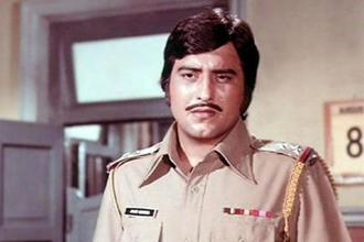 Vinod Khanna in a still from 'Amar, Akbar and Anthony'.