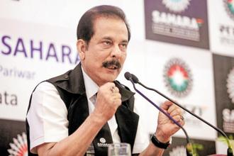 Sahara chief Subrata Roy, who was personally present in the court, submitted an affidavit giving an undertaking to honour the payment. Photo: Reuters