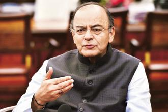 Finance minister Arun Jaitley in 2015 first proposed to cut corporate tax from 30% to 25% over the next four years. Photo: PTI