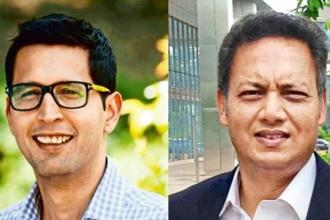 Trifecta Capital founders Rahul Khanna (left) and Nilesh Kothari. The venture debt fund has so far made 21 start-up investments worth Rs300 crore.