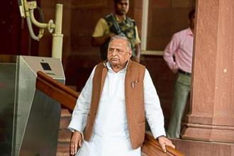 Mulayam Singh Yadav had in the past attacked Akhilesh Yadav, saying the voters in Uttar Pradesh had realized that 'one who is not loyal to his father, cannot be loyal to anyone'. Photo: HT