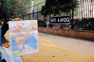 The Economic Survey as well as the new NITI Aayog action plan could be read as a vote of confidence in the Asian development strategy. Photo: Pradeep Gaur/Mint