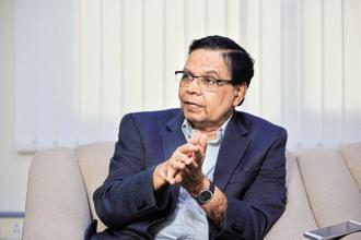 NITI Aayog vice-chairman Arvind Panagariya. India's job creation fares badly compared to workforce generated each year. For 18 million people entering the labour market each year, only 3.45 million jobs are available—leading to severe unemployment. Photo: Pradeep Gaur/Mint