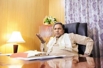 Karnataka chief minister Siddaramaiah. Photo: Hemant Mishra/Mint