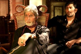 Amitabh Bachchan in a still from 'Sarkar 3'.
