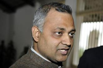 Somnath Bharti was arrested in the wee hours of 29 September 2015 after the Supreme Court had ordered him to surrender but was granted bail on 7 October 2015. Photo: HT
