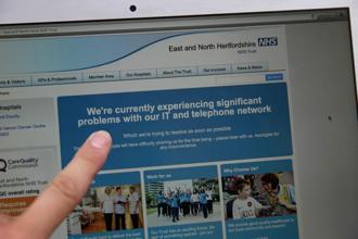 The most disruptive attacks were reported in Britain, where hospitals and clinics were forced to turn away patients after losing access to computers on Friday.  Photo: AFP