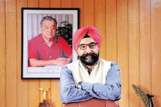 A file photo of Gujarat Cooperative Milk Marketing Federation (GCMMF) Ltd managing director R.S. Sodhi. Photo: Mint