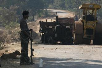 The road construction project in the Naxal areas is likely to start in the next few weeks under the Pradhan Mantri Gram Sadak Yojana (PMGSY). Photo: HT