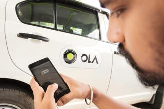 Ola is the first ride-hailing app in the Asia-Pacific region that is using progressive web app technology, according to co-founder Ankit Bhati. Photo: Hemant Mishra/Mint