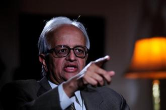 A file photo of former RBI governor Bimal Jalan. Photo: Pradeep Gaur/Mint