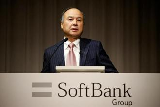Masayoshi Son has said, without irony, that he has a 300-year plan for SoftBank and aims to build the world's most valuable company. Photo: Reuters