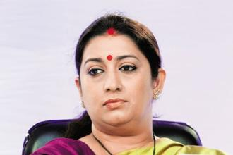 A petition alleges that textiles minister Smriti Irani deliberately gave discrepant details about her educational qualifications to the EC in 2004, 2011 and 2014. Photo: HT