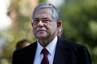 A file photo. Greece's former prime minister Lucas Papademos was taken to hospital with his driver, who was also hurt, a police official said. Photo: Reuters