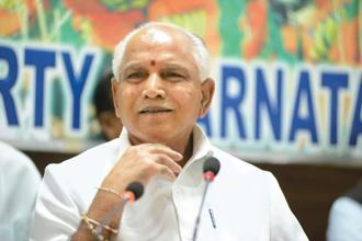 Yeddyurappa's party, Karnataka Janata Paksha, could not make a mark in the assembly elections of 2013 and he later returned to the BJP ahead of the 2014 Lok Sabha polls. Photo: Mint