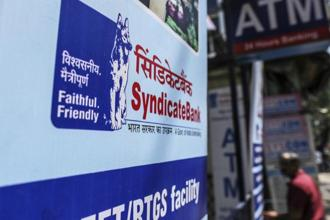 For the entire financial year 2016-17, Syndicate Bank posted a profit of Rs359 crore as against a loss of 1,643 in the previous fiscal. Photo: Bloomberg
