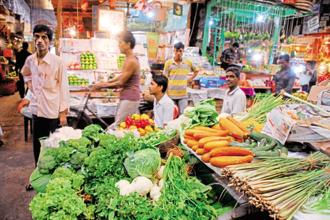 The production of fruits and vegetables has outstripped foodgrain output for a fifth straight year. Photo: Indranil Bhoumik/Mint