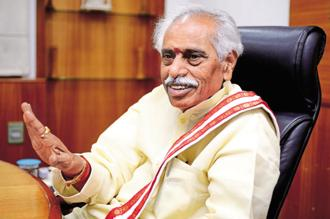 Bandaru Dattatreya, Union minister for labour and employment, said the Narendra Modi-led government's initiatives such as 'Skill India' aim to address the shortfall of technical workforce. Photo: Priyanka Parashar/Mint
