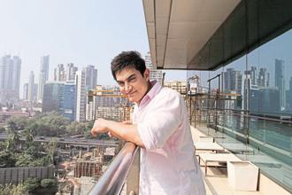 File photo. Actor Aamir Khan says in the long term, he'd like to work on an Indo-China co-production. Photo:  Hindustan Times
