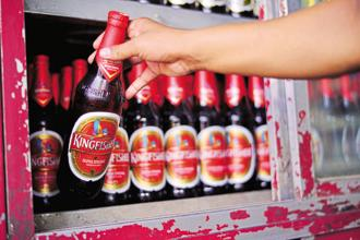 United Spirits reported a standalone net loss of Rs104.2 crore for the fourth quarter on account of higher expenses and impact of exceptional items. Photo: Mint