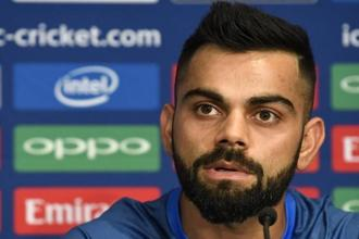 A file photo of India captain Virat Kohli. Photo: Reuters