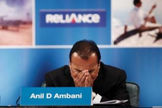 At the end of March, Anil Ambani's Reliance Communications had a debt of Rs47,332 crore on its books as compared to Rs39,828 crore a year ago. Photo: Reuters