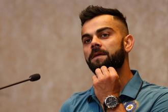 Last year, a report on India's most valuable celebrity brands put Virat Kohli's brand value at $92 million, second only to Shah Rukh Khan's $131 million. Photo: Reuters