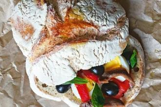 The Pan Bagnat is a much loved sandwich from the Provence region of France.