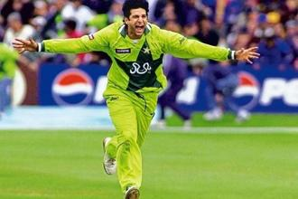 Wasim Akram. Photo: Reuters