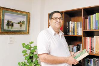 A file photo of chief statistician T.C.A. Anant. Photo: Ramesh Pathania/Mint