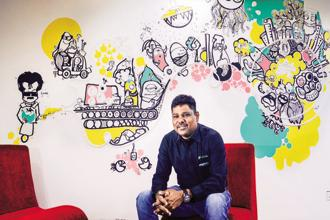 Founder and CEO Girish Mathrubootham cites increasing customer awareness as the reason for rebranding Freshdesk as Freshworks. Photo: Nathan G./Mint