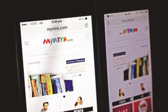 Myntra had hired five senior engineers recently, including an architect, from companies such as Ola and Intuit to strengthen its core technology team. Photo: Bloomberg