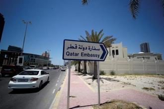 The Gulf countries ordered their citizens out of Qatar and gave Qataris abroad 14 days to return home to their peninsular nation, whose only land border is with Saudi Arabia. Photo: Reuters