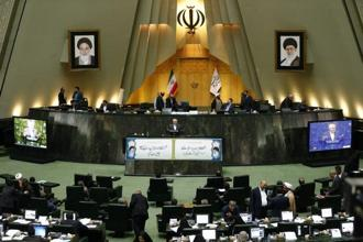 Iran is a key player in the fight against the Islamic State group in both Syria and Iraq. Iran's Parliament or Majlis was in session as the suicide attacks unfolded, with live footage showing members continuing with routine business even as gun battles were reported in surrounding office buildings. Photo:  AFP