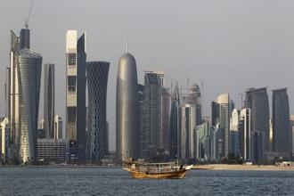 Amidst the ongoing turmoil, Fifa has reiterated that it maintains regular contact with the 2022 World Cup hosts Qatar. Photo: AP