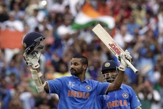 While left-handed opener Dhawan has received 87.76 lakh, Kohli has pocketed Rs 83.07 lakh as his share. Photo Credits: Reuters