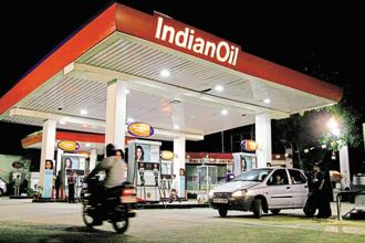 Until last year, Indian Oil, Bharat Petroleum (BP) and Hindustan Petroleum (HP) together sold more than 95% of all petrol and diesel consumed in India. Photo: Bloomberg