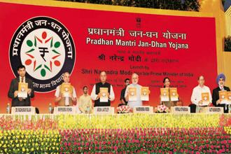 Financial inclusion, spearheaded by the Jan Dhan Yojana initiative, has been at the top of the Narendra Modi government's agenda—and rightly so. Photo: PIB