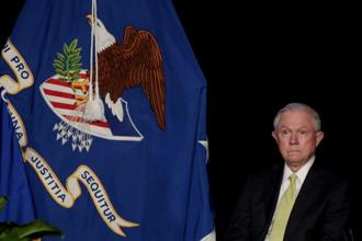 US attorney general Jeff Sessions. Photo: Reuters