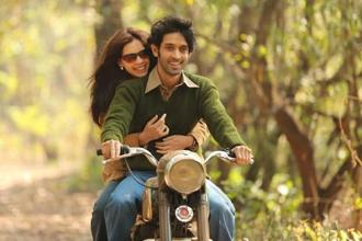 Vikrant Massey and Kalki Koechlin in a still from 'A Death In The Gunj'.