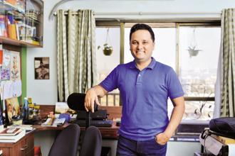 Amish Tripathi. Photo: Aniruddha Chowdhury/Mint