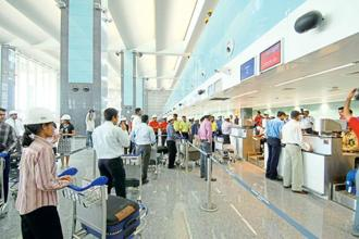 These days it's a good flight when only the prices are unbeatable, and not the customers. Photo: Hemant Mishra/Mint