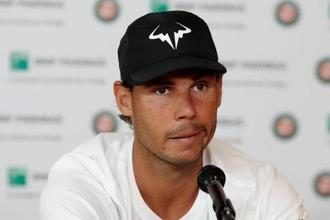Nine-time French Open champion Rafael Nadal has more or less owned the Philippe Chatrier court since 2005. Photo: Reuters