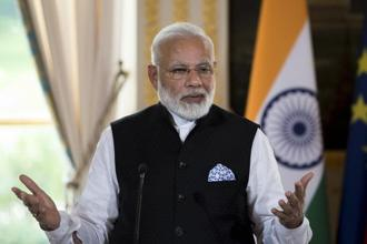 Narendra Modi himself assumes a regal indifference as civil society in India is steadily destroyed by his allies and supporters. He certainly doesn't have to worry much about international disapproval, or even scrutiny. Photo: AP